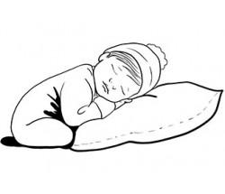 Когда укладывать ребенка спать на подушку?