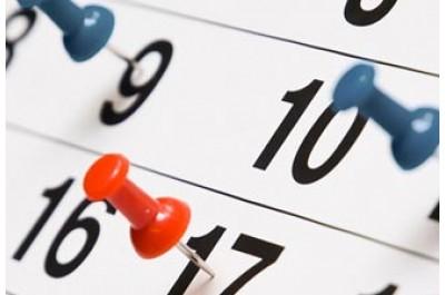 Расписание работы на майские праздники
