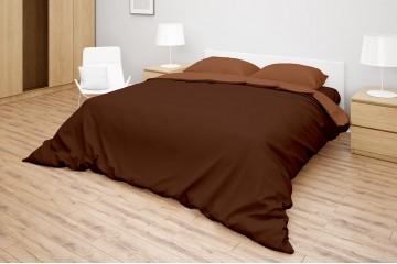 Комплект белья Simple цвет Brown - Mahogany
