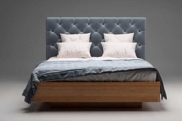 Дерев'яне ліжко TQ Project Олмо (ясен)