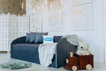 Купить - Мягкая детская кровать Mekko Parker (Паркер)