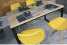 Стул Kris (Meet M8) жовтий